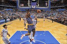 LeBron dunks the ball 3/15/2015 vs the Orlando Magic.  Cavs won 123 to 108!!!
