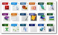 Форматы файлов для ПК