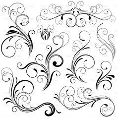 Scrolls stock vector art 7349144 - iStock