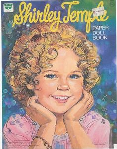 Everything Shirley Temple dolls | Shirley Temple Paper Doll Book | Let's Play Paper Dolls!