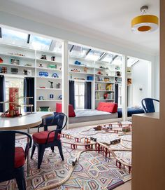 Contemporary Children's Room in New York, NY by Shawn Henderson Interior Design