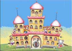 Resultado de imagen de orla castillos infantil