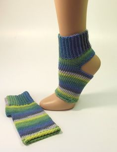 No Toe Socks - Toeless Athletic Socks - Foot Warmer Sock - Yoga Foot Warmer - Yoga Sock - Flip Flop Sock - Pedicure Sock - Pilates Sock by SewDarnComfy on Etsy