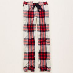 Aerie Sleep Pants ($35) ❤ liked on Polyvore featuring intimates, sleepwear, pajamas, vintage vanilla, plaid flannel pajamas, plaid pjs, flannel sleepwear, vintage pajamas и aerie sleepwear