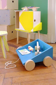 The Colorful Kids Furniture and Toys by Studio Delle Alpi