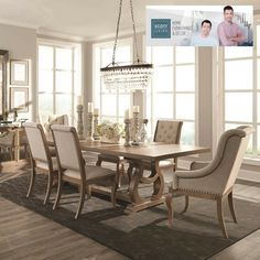 Scott Living Glen Cove Antique Java Finish Asian Hardwood Dining
