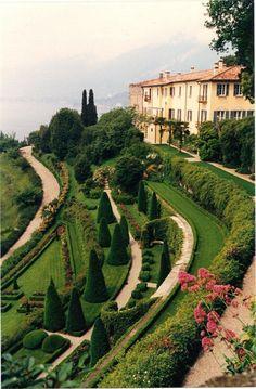 Above Lake Como, Italy