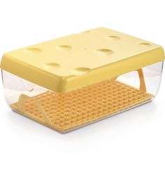 Symple Stuff This food storage container is a container used to store any type of cheese in the fridge. It has a feature of a removable perforated tray to make it easier to use and clean. Cheese Shop, Cheese Lover, Charcuterie, Conservation, Types Of Cheese, Krabi, Food Storage Containers, Box Storage, Transparent