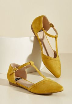 288461bb70e Turn Back Prime Vegan Flat in Marigold BEST FLATS WEBSITE EVARRRRR Yellow  Ballet Flats