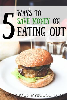 5 ways to save money on eating out! I love going to restaurants, but can't afford to do it regularly - unless I am using one of these 5 great tricks to get FREE or seriously reduced food!