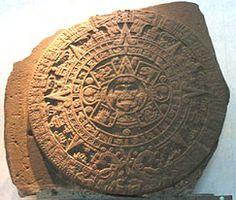 Pedra do Sol: representação do deus Tonatiuh