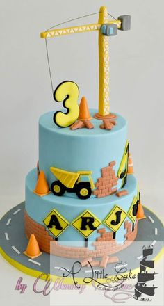 Construction-Themed-Cake #theme #selection