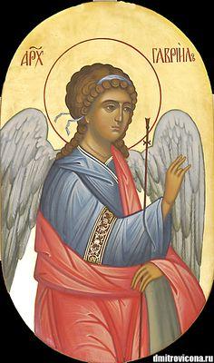 храмовая икона Архангел Гавриил