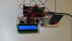 RFID  LCD screen home alarm project!!! #arduino #arduinomega #rfid #alarm #security #tech by frjtech