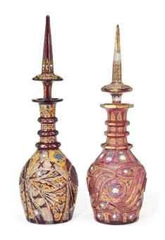 flacons à parfum égyptiens