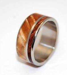 Two solitudes   Minter + Richter | Titanium Rings - Wooden Wedding Rings | Titanium Rings | Minter + Richter