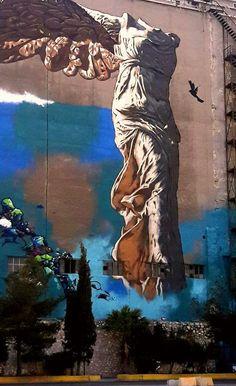 Olga Vati _Photography-Piraeus_Athens (Graffiti ) Street Art Graffiti, Street Artists, Arts, Athens, Greece, World, Photography, Painting, Painters