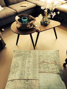 By-Boo kussen patchwork. Verkrijgbaar bij www.pieterzevenbergen.nl in diverse kleuren.
