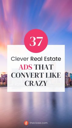 Are you looking for ways to market your real estate business? Here's a list of 37 clever real estate ads that work the best in real estate! Real Estate Ads, Real Estate Business, Real Estate Marketing, Like Crazy, Clever, Real Estate Signs, Real Estate Advertising