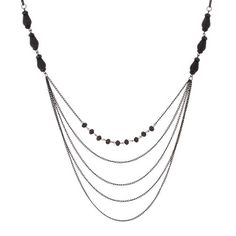 Sparkling Women Black Beaded Necklace By Urban Jewelry (L... https://www.amazon.com/dp/B00CUA7BC8/ref=cm_sw_r_pi_dp_p.-Gxb1960BR8