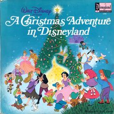 Christmas Adventure in Disneyland. - Christmas Vinyl Record LP Albums on CD and Christmas Vinyl, Christmas Albums, Childrens Christmas, Christmas Music, Vintage Christmas, Christmas Time, Christmas Cards, Christmas Cartoons, Christmas Images