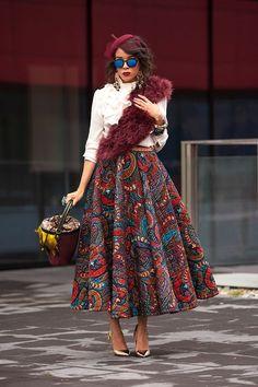 Check out These Glamorous, Classy And Stylish Ankara Skirts/Trousers - Wedding Digest Naija