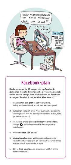 Veilig Facebook-plan voor kinderen onder de 13 jaar.