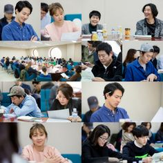"Jo In Sung, Gong Hyo Jin, & Others At First Script Reading Of ""It's Okay, It's Love"""