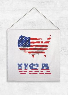 Tapestry Large - United States Of America in Blue/Purple/Red by VIDA Original Artist Vida Design, Original Art, Tapestry, United States, America, Hanging Tapestry, Tapestries, Needlepoint, Usa