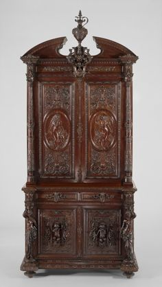 fourdinois cabinet 1861-1867 victoria and albert museum londres