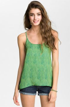 Soprano Print Trapeze Tank (Juniors) available at Nordstrom