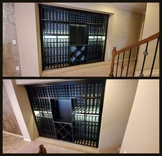 Take a little inspiration from today's Tech Tuesday. This wine cellar closet transformation has everything you need:function, design, and space-efficiency! Closet Transformation, Wine Cellar, Tuesday, Tech, Space, Inspiration, Design, Technology, Floor Space