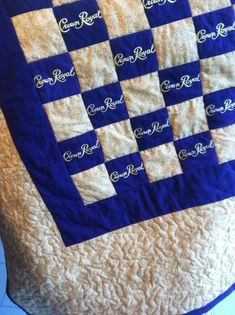 Crown Royal Quilt by bagandbaby on Etsy