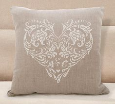 Scheme for cross stitch Cross stitch pattern wedding gift Cross Stitch Pillow, Cross Stitch Heart, Simple Cross Stitch, Christmas Embroidery Patterns, Embroidery Flowers Pattern, Cross Stitch Designs, Cross Stitch Patterns, Cross Stitching, Cross Stitch Embroidery