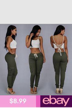 687b0aa974 Jeans Clothing, Shoes & Accessories Slim Pants, Casual Pants, Capri Pants,  Elastic