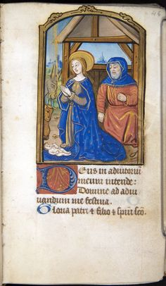 Book of Hours, c.1500.  Northern France.  University of Oklahoma Libraries, Bizzell Bible Collection