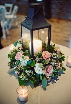 Lantern centerpiece wedding - 93 Chic and Fabulous Wedding Lanterns Table Decorations – Lantern centerpiece wedding Lantern Centerpiece Wedding, Wedding Lanterns, Rustic Wedding Centerpieces, Lanterns Decor, Floral Centerpieces, Table Centerpieces, Wedding Table, Floral Arrangements, Wedding Decorations