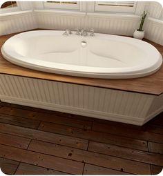 Neptune Felicia Activ-Air/Mass-Air/Whirlpool Combo Tub x x Drop In Bathtub, Soaker Tub, Whirlpool Tub, Felicia, Master Bathroom, Home Remodeling, Outdoor Decor, Bathtubs, Bath
