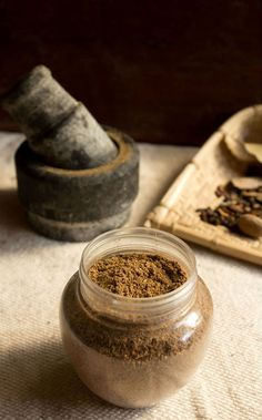 garam masala powder recipe, how to make punjabi garam masala powder. Just used about 1/2 tsp of each spice had on hand to make own blend