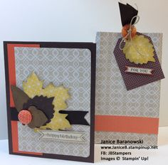 Thankful Tablescape turned Birthday card & Gift Bag by stampingdietitian - Cards and Paper Crafts at Splitcoaststampers