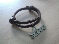 A personal favorite from my Etsy shop https://www.etsy.com/listing/239509451/love-word-bracelet-for