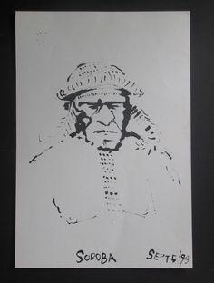 Irian Jaya, West Papua West Papua, Ink, Paper, India Ink