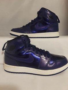 5d79114dfd8725 AIR JORDAN RETRO 1 HIGH DEEP ROYAL 705303-420 size 1Y  fashion  clothing   shoes  accessories  kidsclothingshoesaccs  boysshoes (ebay link)