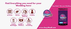 get easyshadi app for your wedding solutions http://www.easyshadi.com/