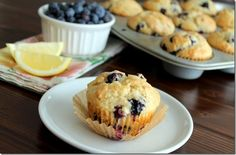 Triple Lemon Blueberry Muffins - Sweet Tooth Sweet Life