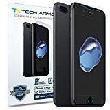 iPhone 7 Plus Screen Protector, Tech Armor Premium HD Clear Apple iPhone 7 Plus (5.5-inch) Film Screen Protectors [3-Pack]