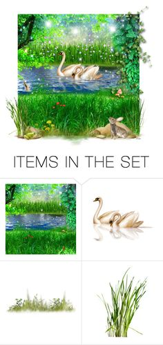 """A Storybook Nature Walk"" by lmm2nd ❤ liked on Polyvore featuring art"