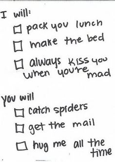you will catch spiders