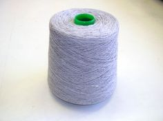 Our best seller Nm 10/3 conductive yarn, 80% polyester, 20% stainless steel.