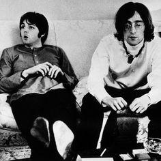 John Lennon and Paul McCartney photo,photograph,image,picture